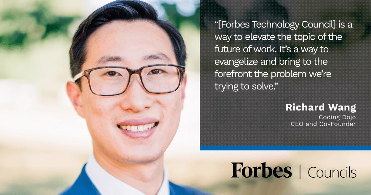 Forbes Technology Council Richard Wang