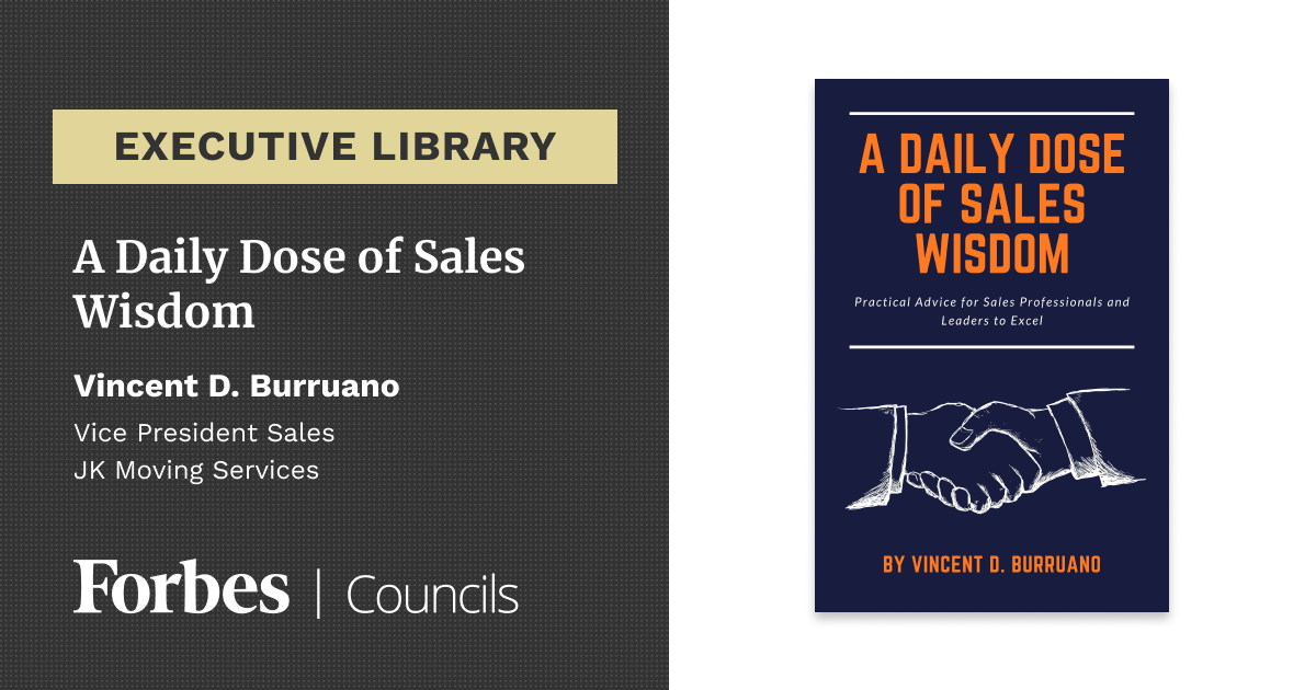 A Daily Dose of Sales Wisdom by Vincent Burruano