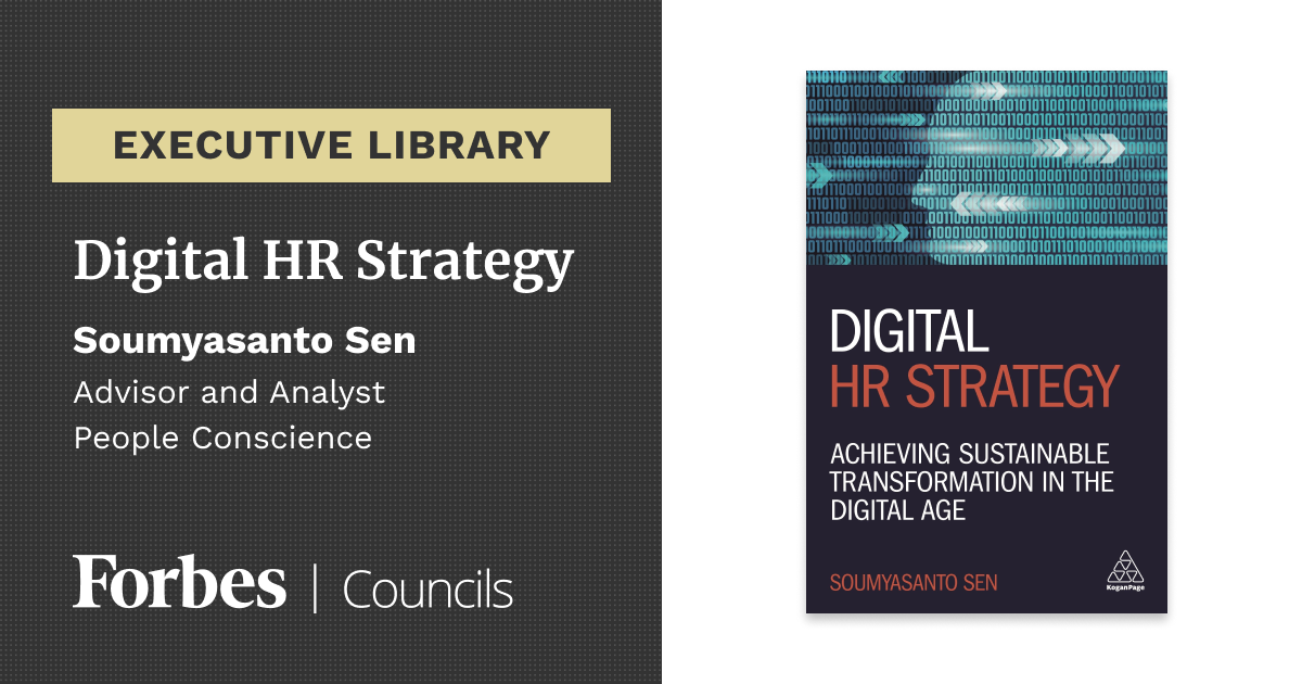 Digital HR Strategy cover image