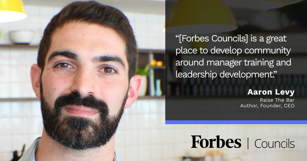 Forbes Councils Publishing Brings in Business for Aaron