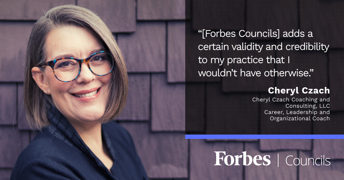 Cheryl Czach Says Her Forbes Councils Articles Often Clinch the Deal With New Clients