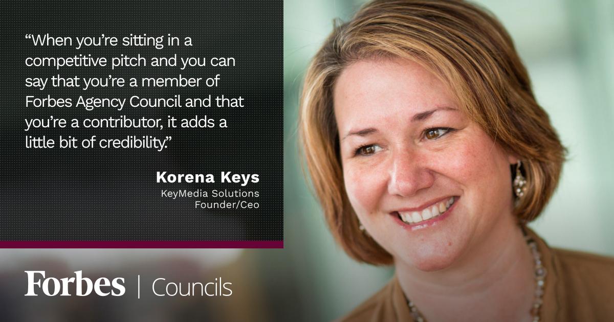 Forbes Agency Council member Korena Keys