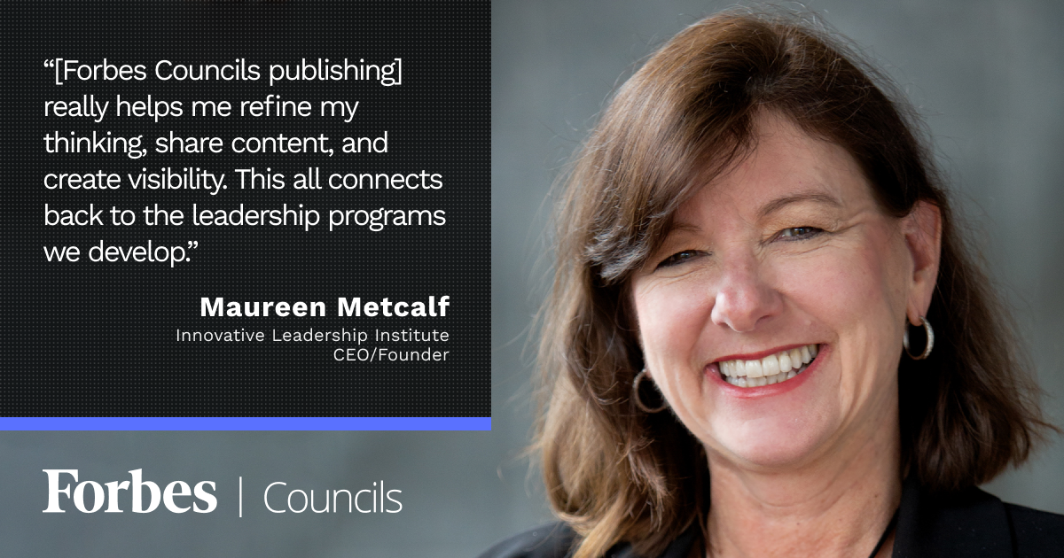 Forbes Councils Publishing Gives Maureen Metcalf a Way to Leverage Her Thought Leadership