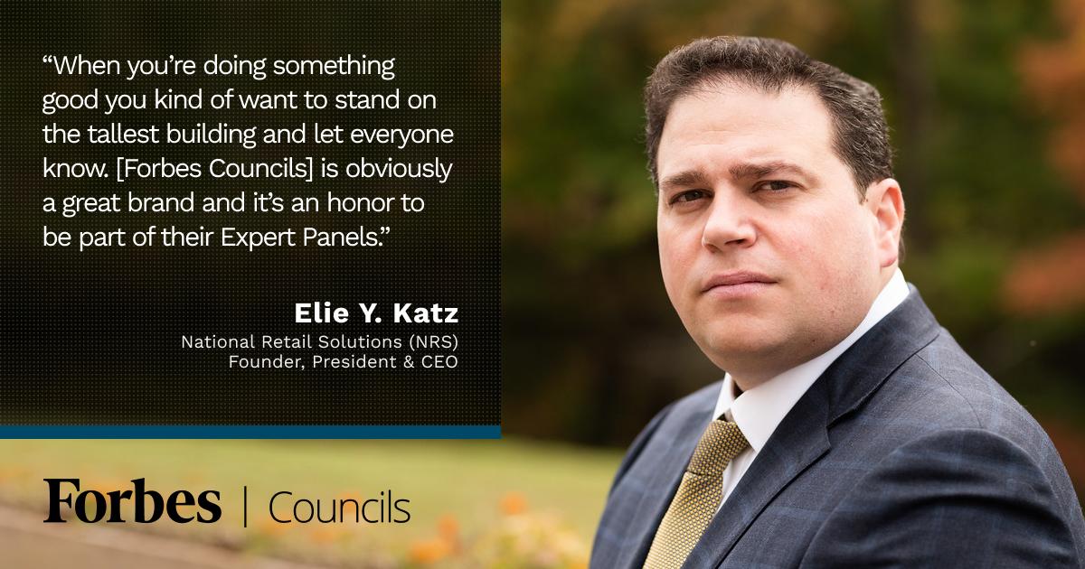 Forbes Business Council member Elie Y. Katz