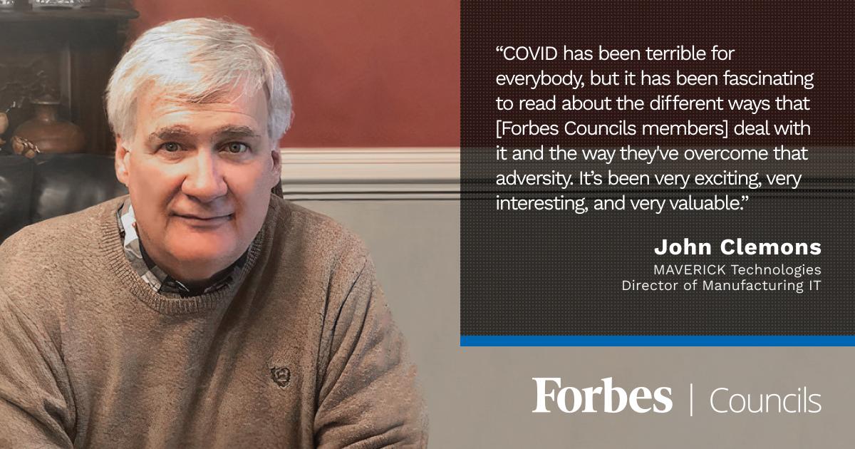Forbes Technology Council member John Clemons