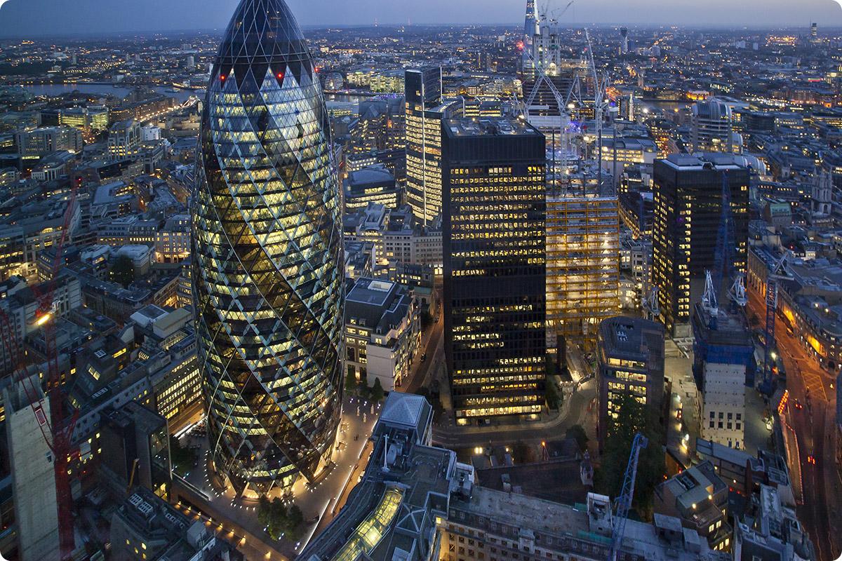 Gherkin-London-aerial-view