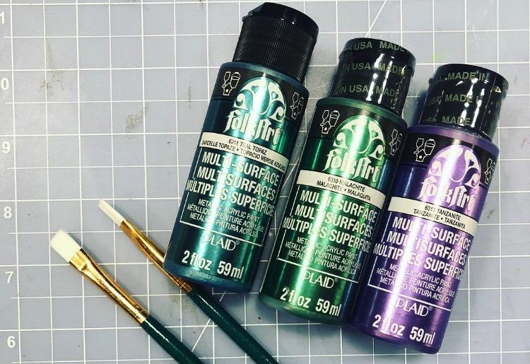 Cosplay acrylic paints