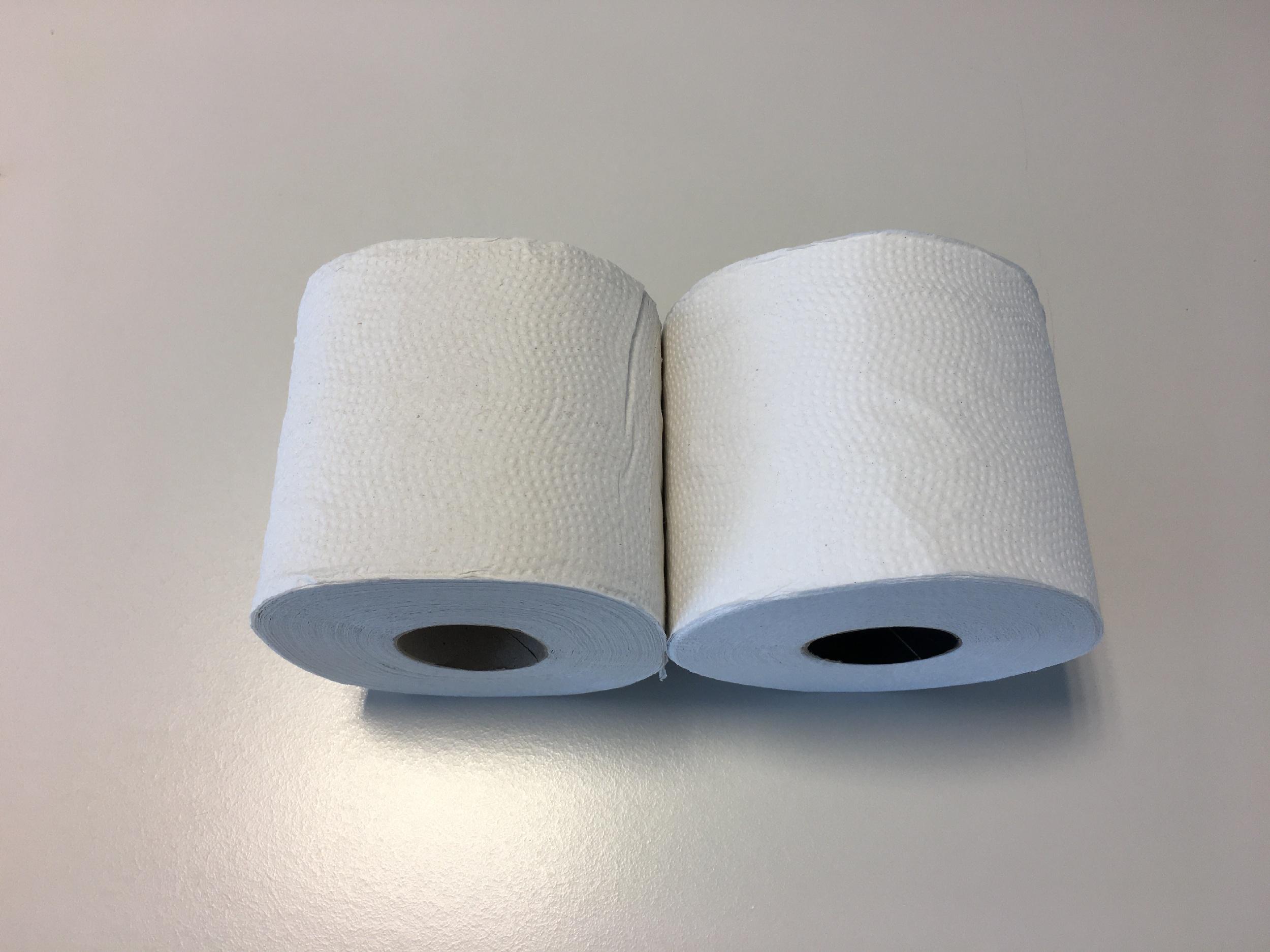 Waarom toiletpapier wit is en dit niet zo hoeft te zijn