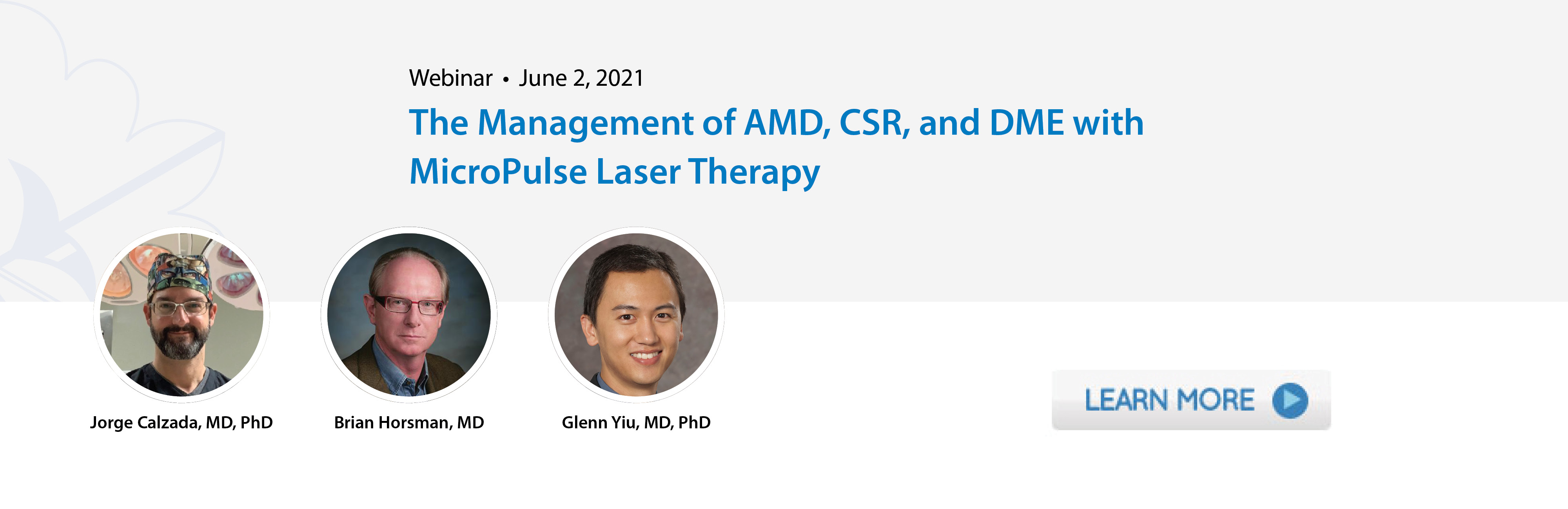 The Management of AMD, CSR, and DME with MicroPulse Laser Therapy
