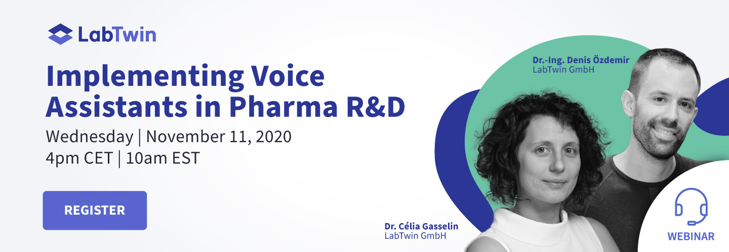 Implementing Voice Assistants in Pharma R&D