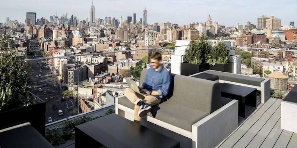 4 raisons d'aménager l'extérieur de son entreprise