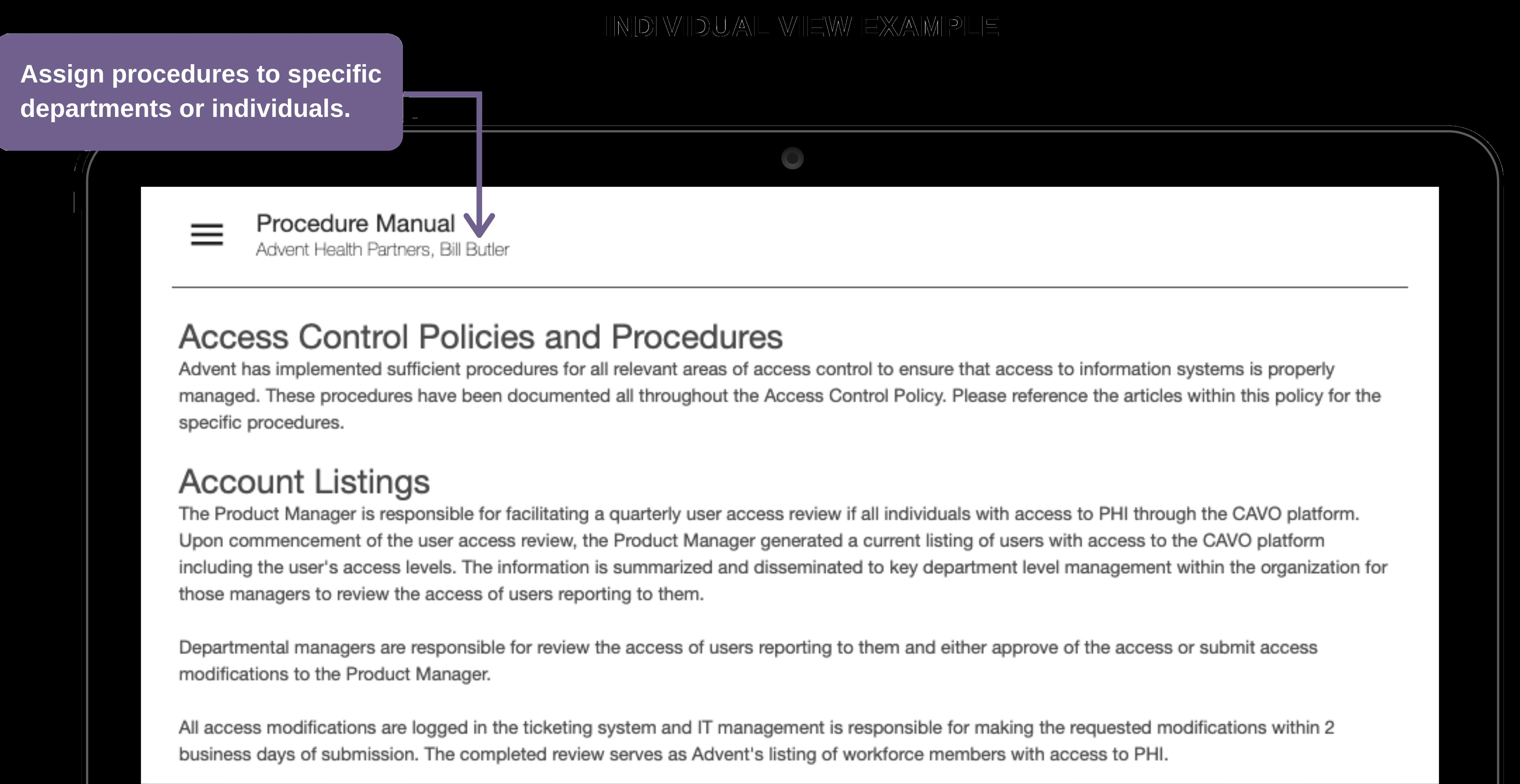 Introducing My Procedure Manual | PolicyCo