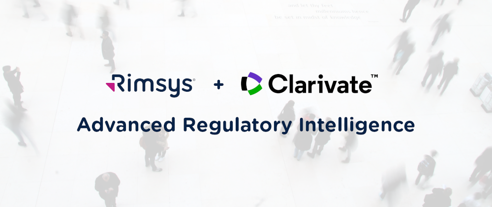 Rimsys Advanced Intelligence - Powered by Clarivate