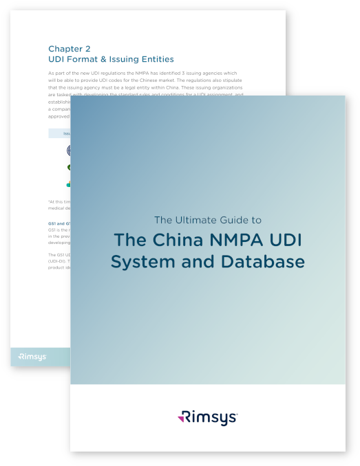 China NMPA UDI eBook