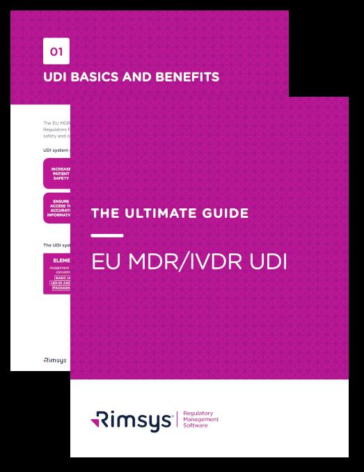 EU MDR/IVDR UDI eBook