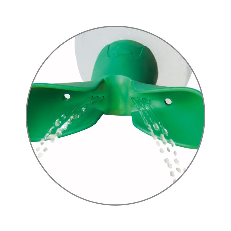 ACTIOMEDIC® Augenspülflasche TWIN mit Natriumchloridlösung 0,9%, 500 ml}