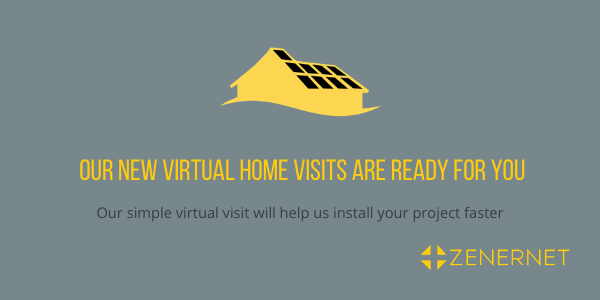Our simple Virtual Home Visit will help up install your project faster.