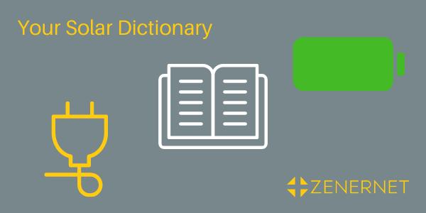 Your solar dictionary: solar jargon explained