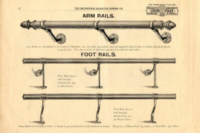 Belly Up To The Bar: A History of Bar Foot Rail
