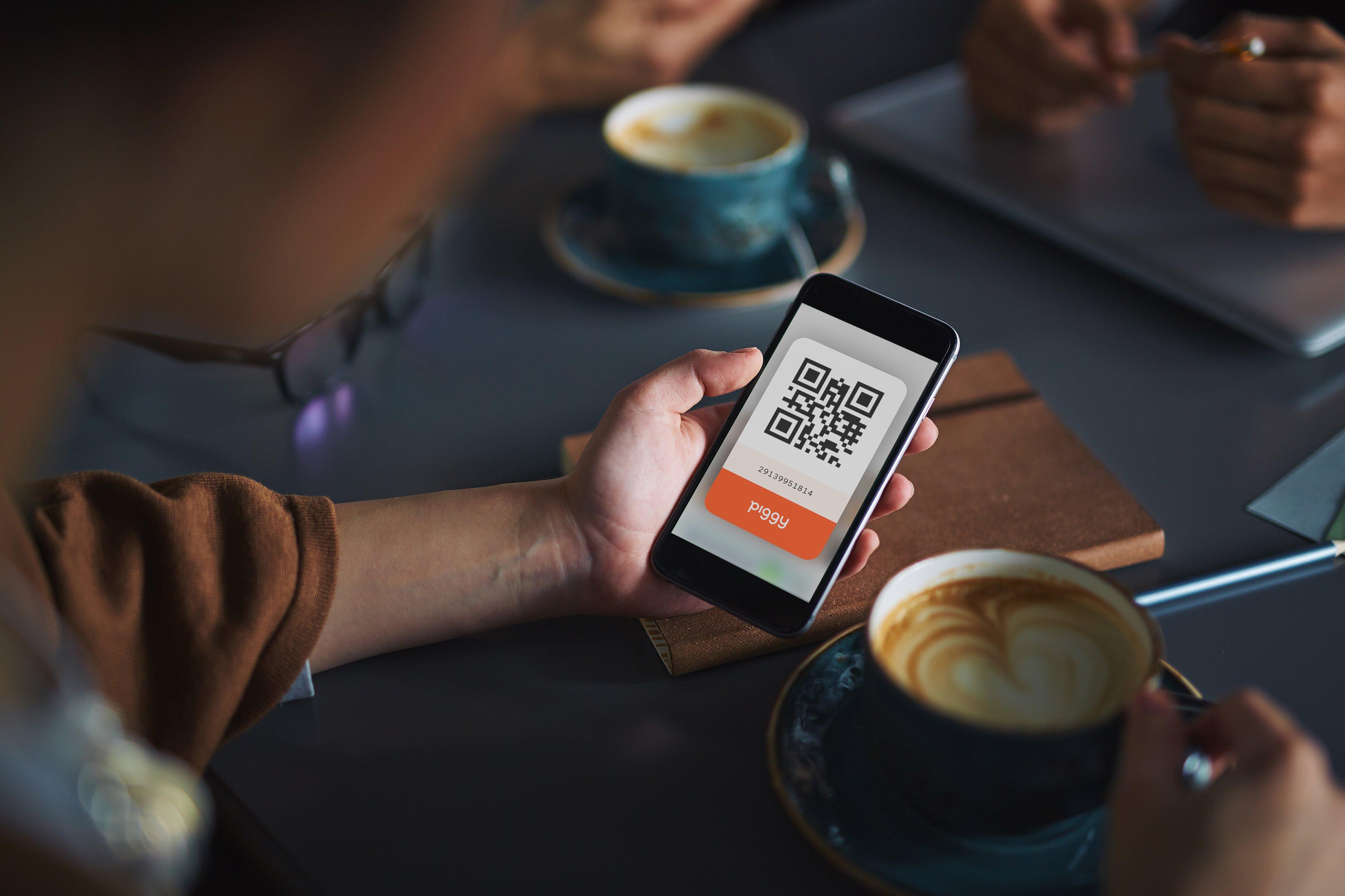 piggy loyalty program collect points on app-min
