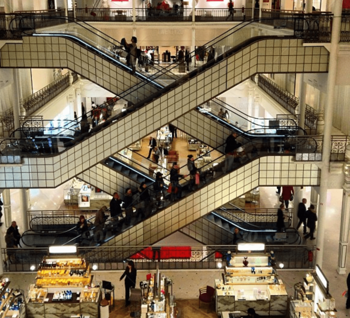 stairways in mall loyalty program-min