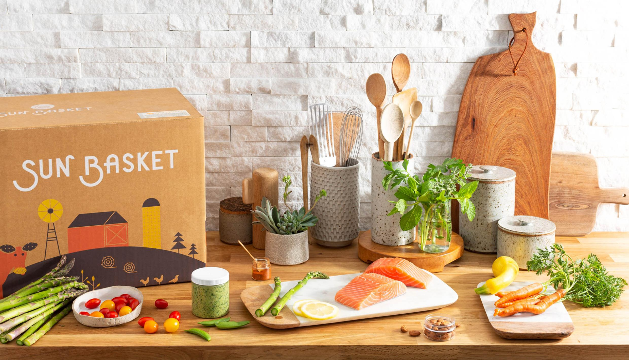 Sun Basket Meal Plan Delivery Company