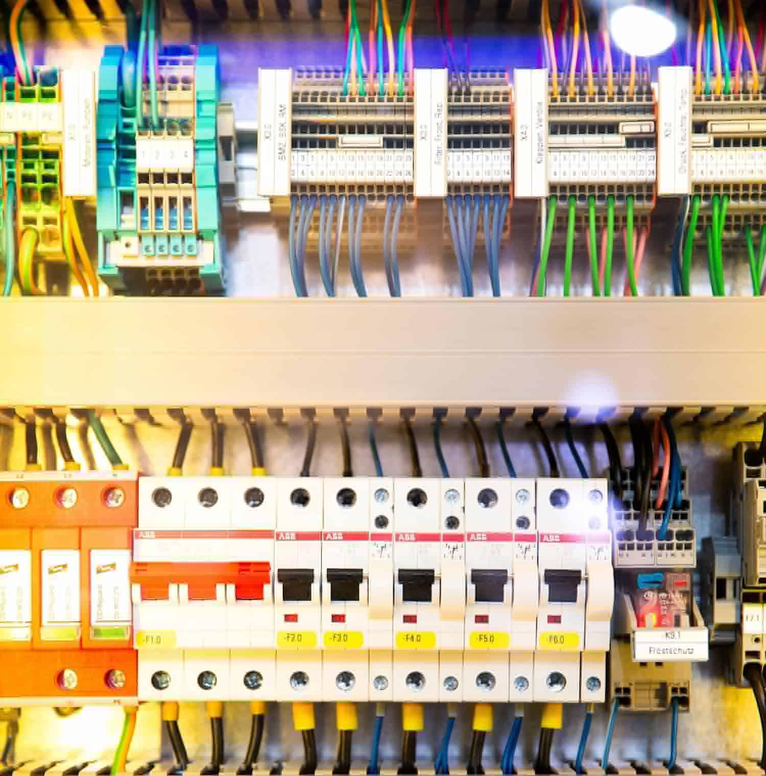 système électrique, rénovation maison, tableau