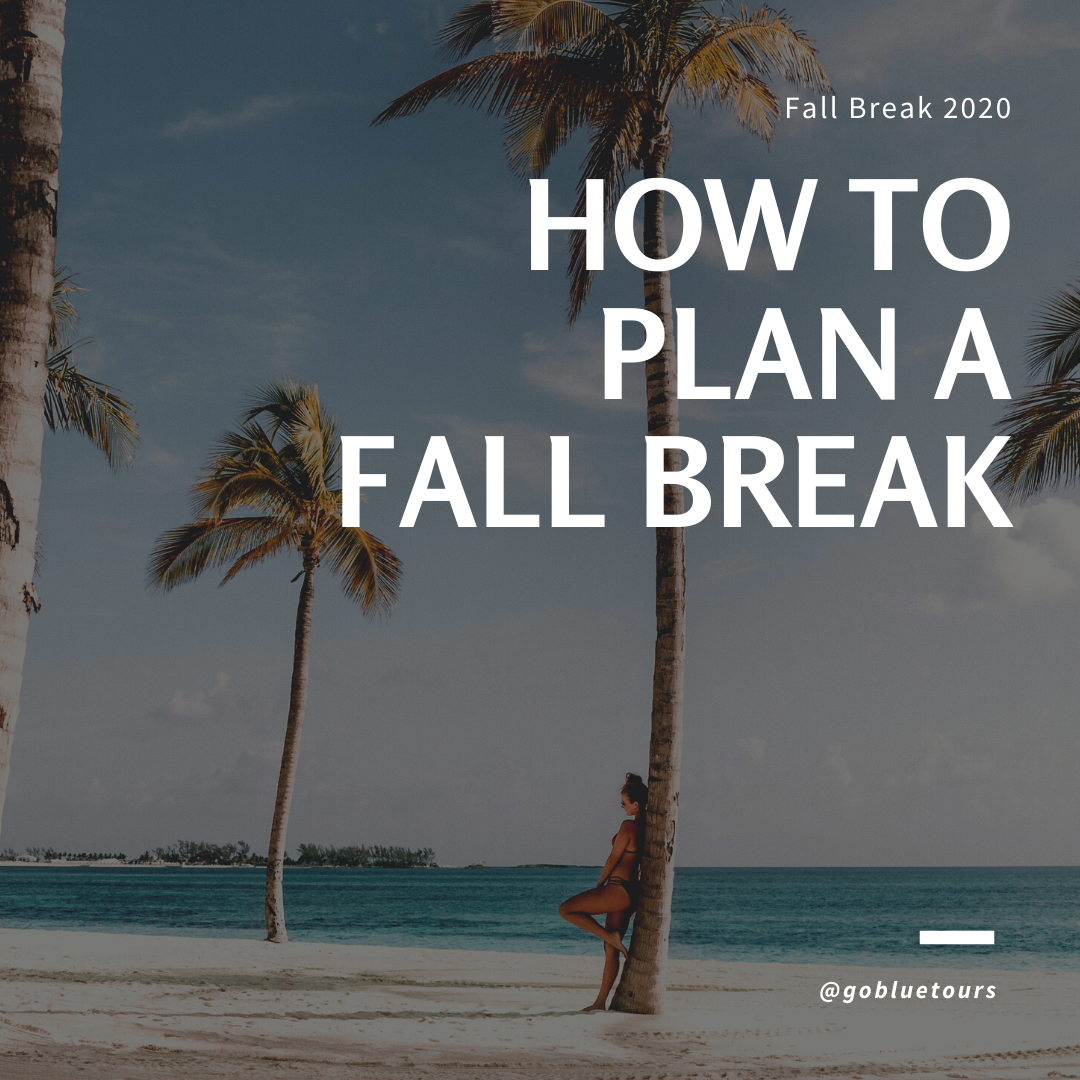 How to Plan A Fall Break.