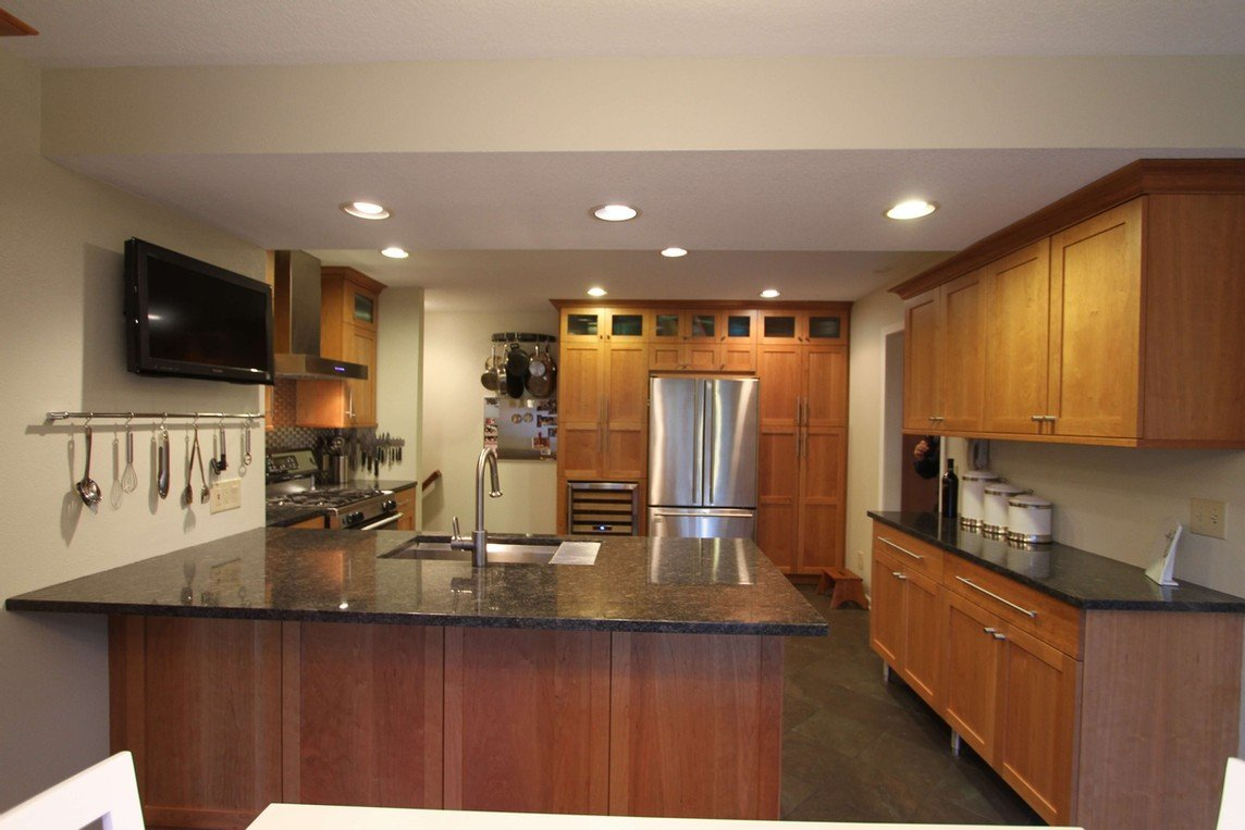 Awesome remodeled kitchen in Des Moines