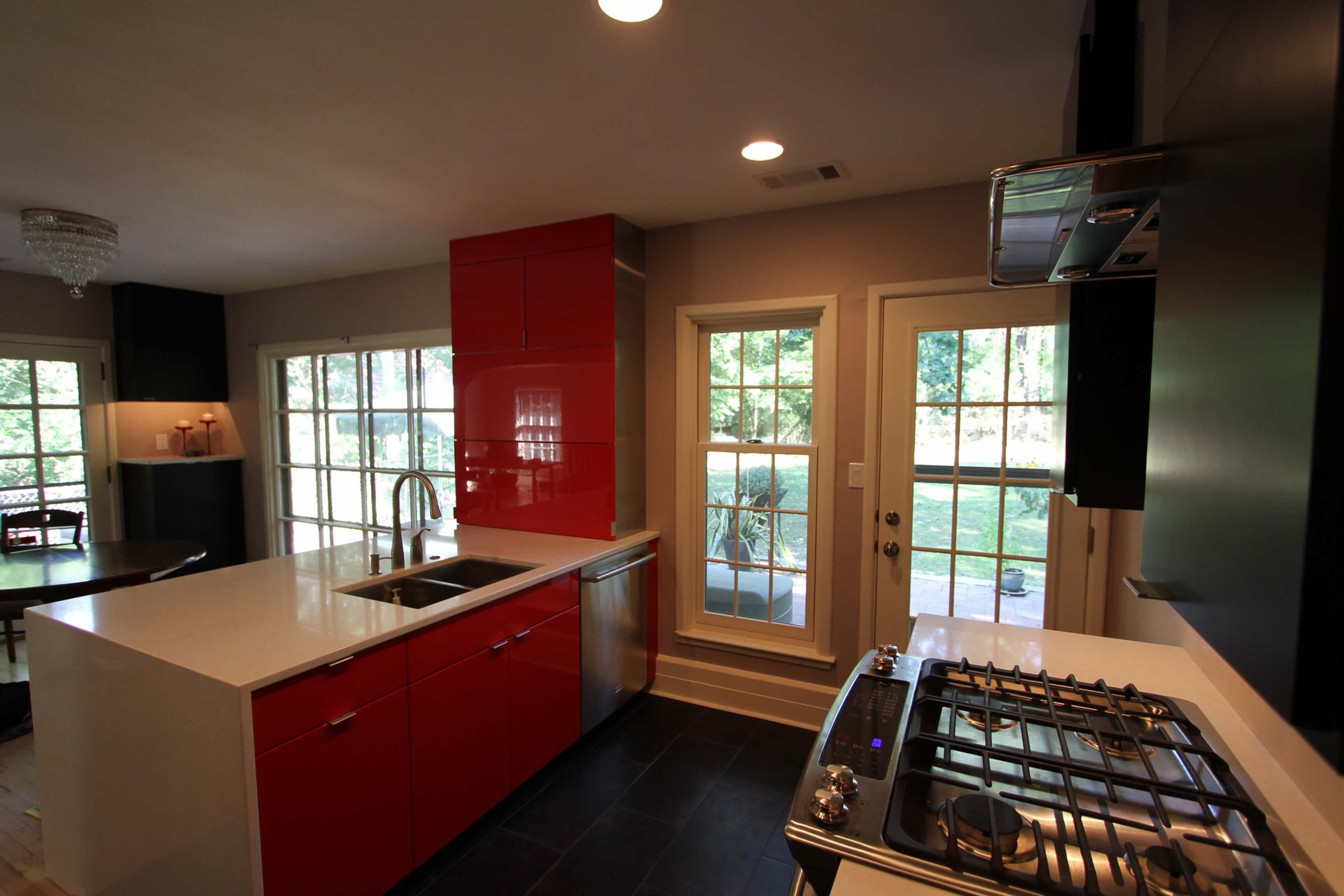 Add some color to your kitchen