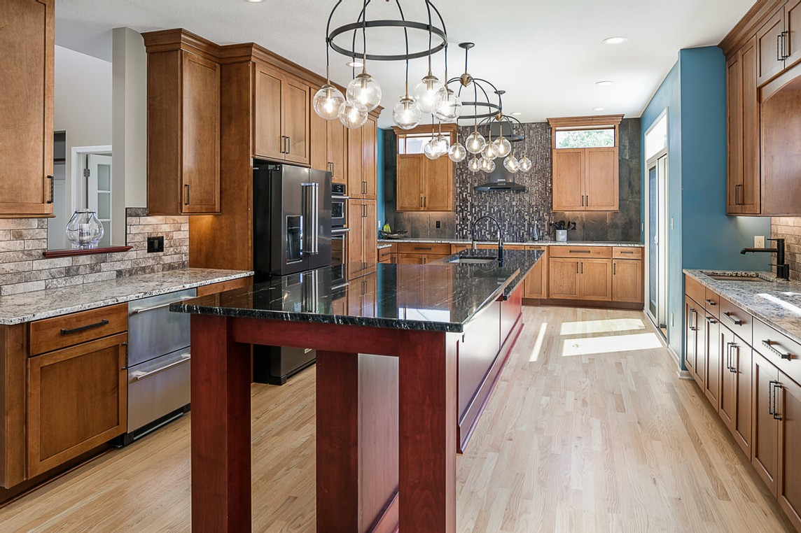 Cool remodeled kitchen