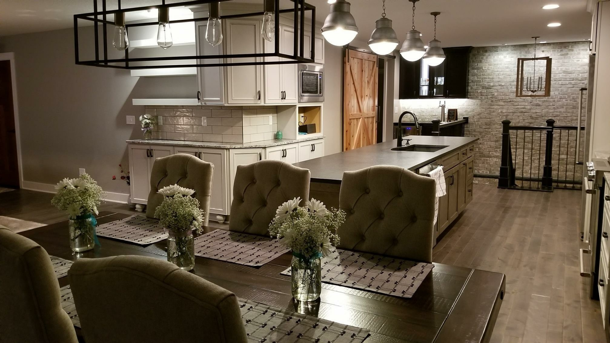Tons of custom features in this kitchen remodel