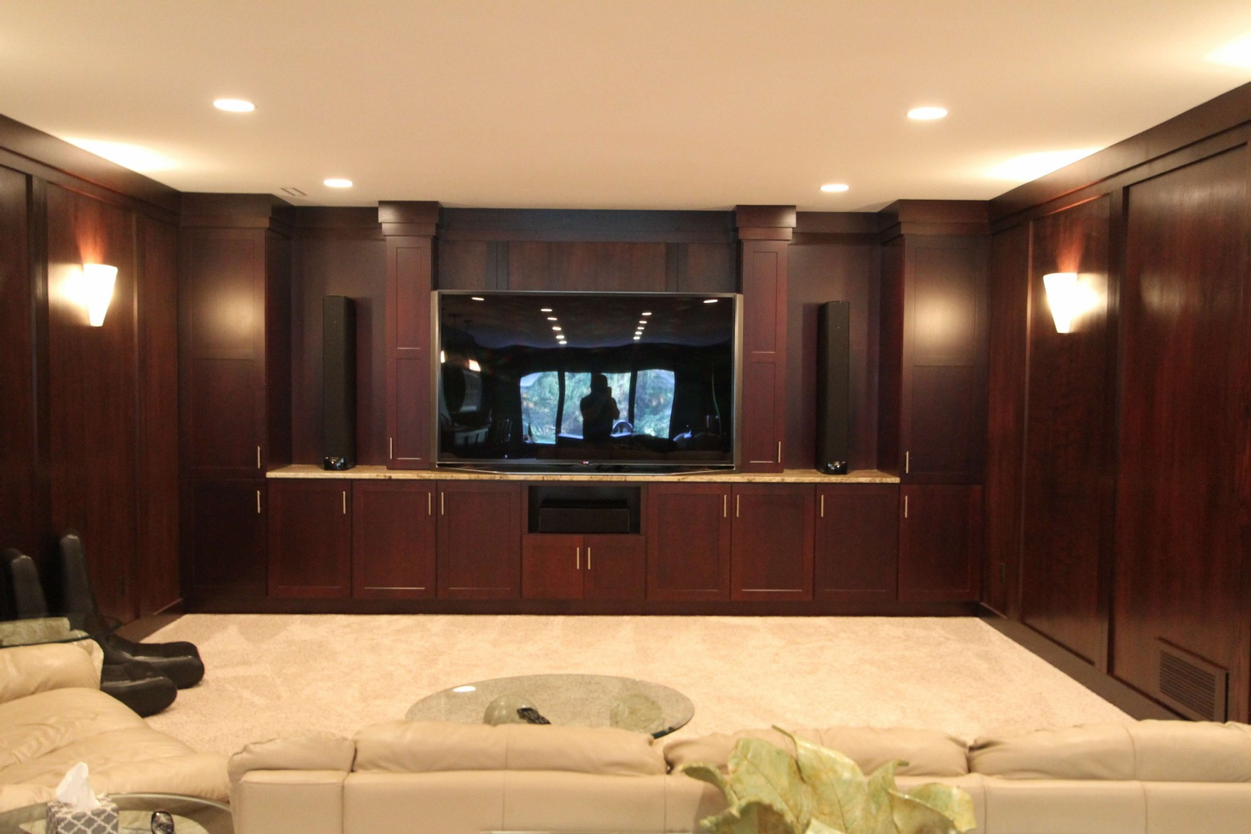 Awesome custom home theater