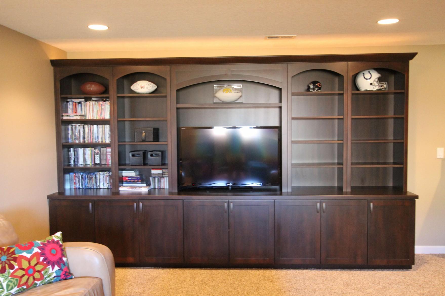 Custom built home theater