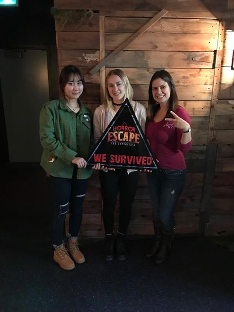 GV Students try out an Escape Room in Victoria, Canada