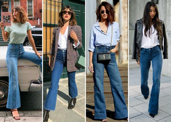 Outfit-jeans-Acampanados