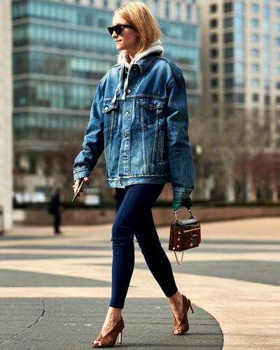 Oggi Jeans Moda Oversized