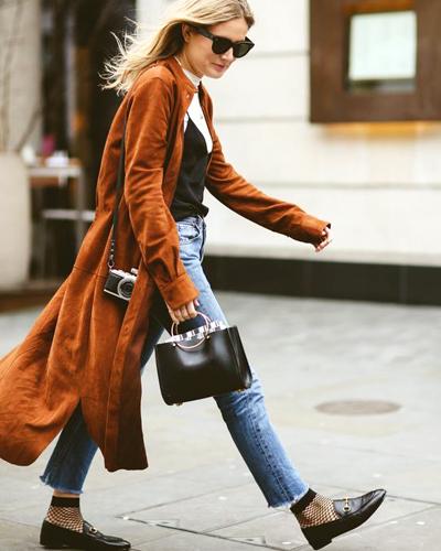 Oggi Jeans con Mocasines