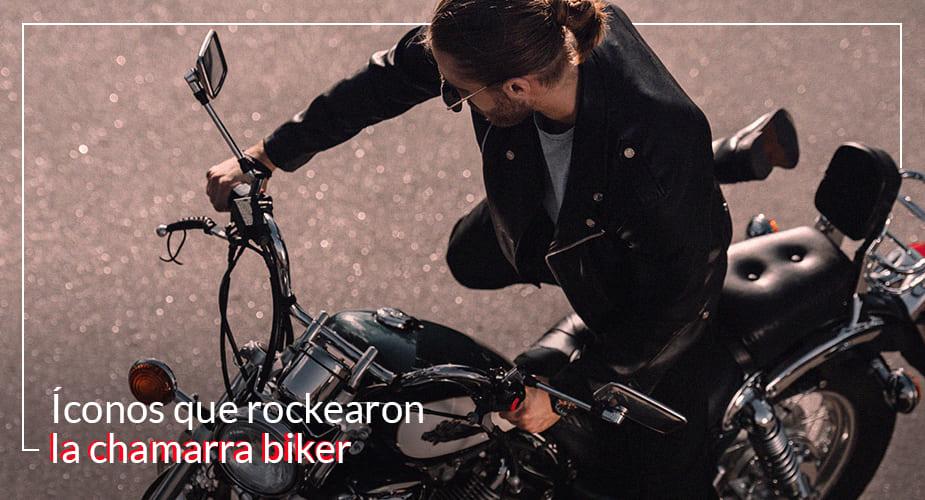 chamarra biker