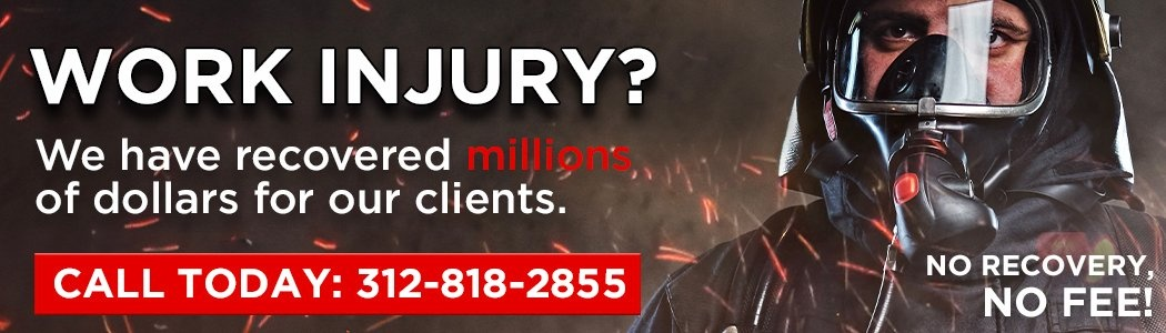 Work Injury? We have recovered millions of dollars for our clients. No recovery, no fee!