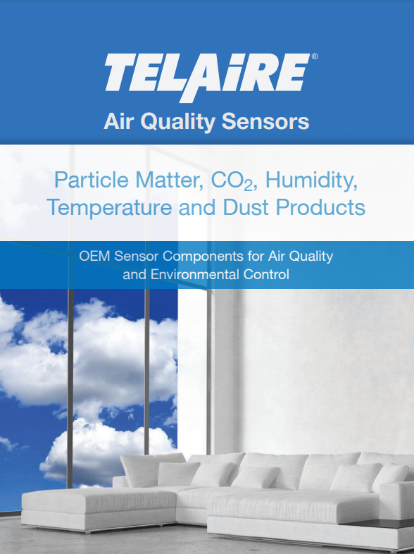 Air Quality Sensors - OEM Sensor Components for Air Quality and Environmental Control | Telaire - Brochure