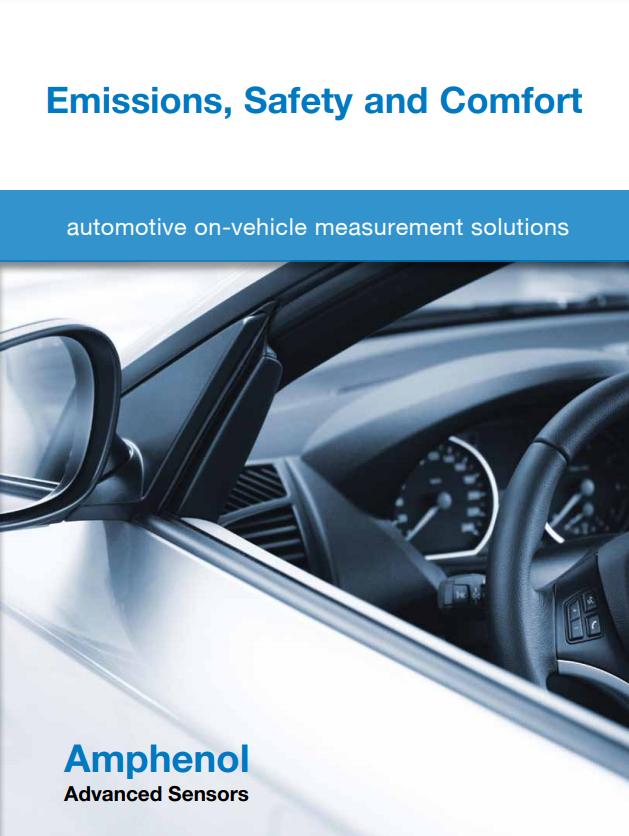 Automotive On-Vehicle Measurement Solutions | Amphenol Advanced Sensors - Brochure