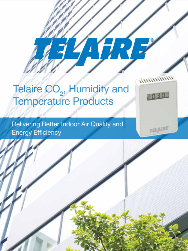 Delivering Better Indoor Air Quality and Energy Efficiency - CO2, Humidity and Temperature Products | Telaire - Brochure