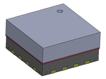 NPB 102 Barometric Pressure Sensor | By NovaSensor