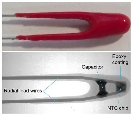 Thermometrics NTC Thermistors | Epoxy Type NKI Noise Immune